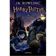 """""""Harry Potter og de vises sten"""" i indbundet/hardback udgave"""