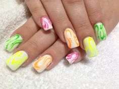 Colors On White by Akonihb91 from Nail Art Gallery