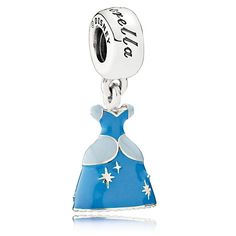Must have a Cinderella themed one but not sure which one. Cinderella Dress Charm by PANDORA