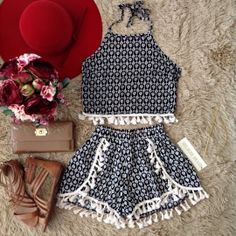 fashion style stylish love me cute photooftheday nails hair beauty beautiful instagood instafashion pretty girly pink girl girls eyes model dress skirt shoes heels styles outfit purse jewelry shopping Cute Summer Outfits, Trendy Outfits, Cool Outfits, Cheap Outfits, Mode Rockabilly, Teen Fashion, Fashion Outfits, Fashion 2017, Dresses Kids Girl