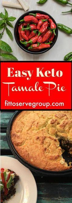 Easy Keto Tamale Pie