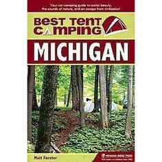 Best Tent Camping Michigan (Paperback)
