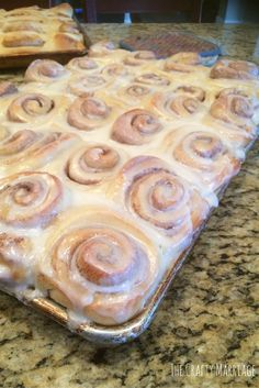 Mouth watering cinnamon rolls. You don't want to miss out on this recipe. It's a perfect after dinner or breakfast treat. Better then cake.
