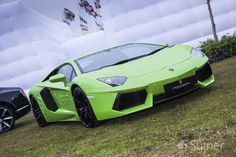 The Huracan's Big Brother - The Lamborghini Aventador