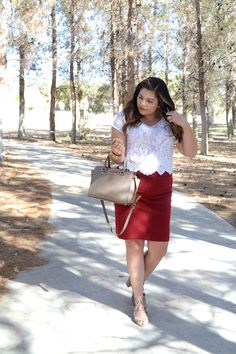 Business Casual | Business Casual Outfits | Business Casual Outfit Ideas | Corporate Style | Summer Work Style | Pencil Skirt | The Adorned Life