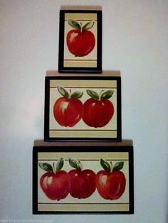 Kitchen Ideas New House On Pinterest Apple Kitchen Decor