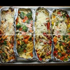 One-Tray Pasta Bake Meal Prep by Tasty