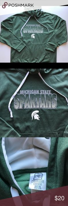 Michigan State Spartans NCAA Hoodie Item is in great condition with no signs of any flaws. Let me know if you have any questions! ProEdge Shirts Sweatshirts & Hoodies