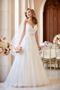 Your wedding day is all about a celebration of love and there's no better way to celebrate — or Stellabrate — than with one of these beautiful gowns from the Stella York Fall 2016 Collection! As unique as every bride is, so are these dress designs. From glamorous curve hugging fit-and-flare gowns to alluring illusion backs, […]