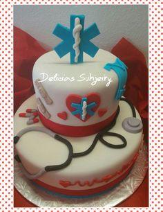Enfermeria cake
