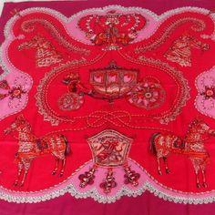 Tip: Hermès Scarf (Pink)