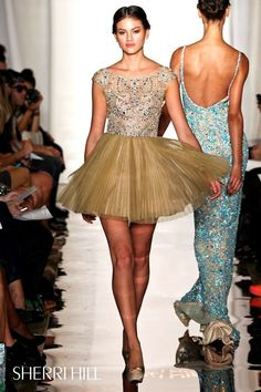 New York Fashion Week, September 2011 - SHERRI HILL - SHERRI HILL