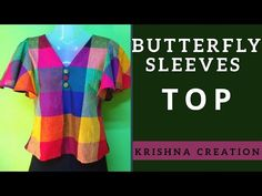YouTube Sleeve Designs, Blouse Designs, Stitching Classes, Myanmar Dress Design, Western Tops, Shirt Tutorial, Sewing Pants, Back Neck Designs, Fashion Room