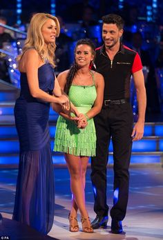 'The Two Gs!' It was revealed that former Coronation Street star Georgia May Foote would be moving and shaking alongside Sicilian newcomer Giovanni Pernice in this year's Strictly Come Dancing Georgia And Giovanni, Georgia May Foote, Pride Of Britain, Peter Andre, Amanda Holden, Partner Dance, Strictly Come Dancing, Bbc One, Coronation Street
