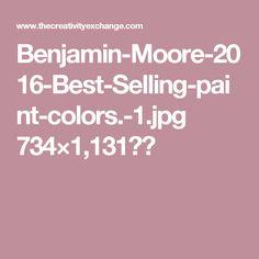 Benjamin-Moore-2016-Best-Selling-paint-colors.-1.jpg 734×1,131픽셀