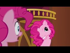 I was watching mlp ( my little pony ) and pinkie pie had changed her face into her old version pony head I started to laugh and said I got to get a pic of this