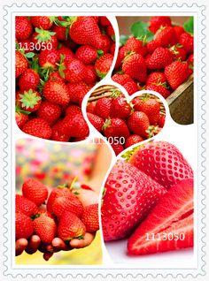 300/bag Giant Strawberry Seeds, Rare, Big as a Peach, Fragaria ananassa L. Maximus Strawberry fruit seeds for home garden