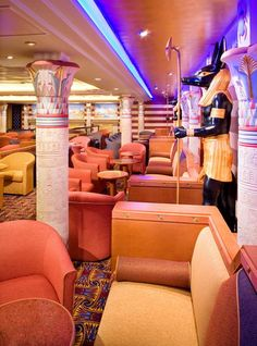 Liberty of the Seas - Royal Caribbean Liberty of the Seas Cruise Ship: Liberty of the Seas Sphinx Bar