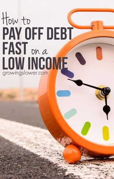 How to Pay Off Debt Fast with a Low Income - Advice from a real mom whos actually done it. If you want to be debt free, but dont think its possible, this is worth the read. Includes budgeting and saving money tips, ways to make money at home, and inspi Ways To Save Money, Money Saving Tips, How To Make Money, Money Tips, Money Budget, Managing Money, Cost Saving, Budgeting Finances, Budgeting Tips