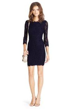 DVF Julianna Lace Wrap Dress in Heaven  Party Dresses  Pinterest ...