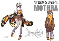 Mothra fanart | Godzilla | Know Your Meme