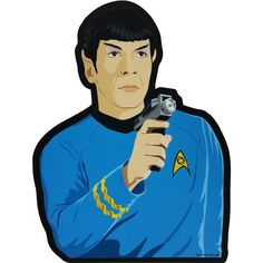 Boldly go where no mouse has gone before with this incredible Star Trek Mr. Spock mousepad! Immortalized by the late, great Leonard Nimoy, Mr. Spock is a household name, and now he's ready to beam dow
