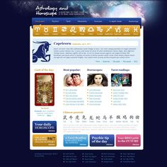 Take a closer look at this Fortune Teller Website Template ( and you will fall in love with it. Clean, professional and straightforward design. Pisces And Capricorn, Astrology And Horoscopes, Horoscope Reading, Daily Horoscope, Teaching Themes, One Page Website, Camping Theme, Portfolio Website, Tarot Reading