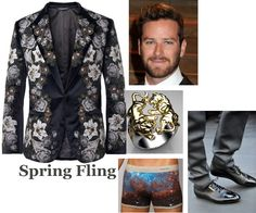 Spring fling outfit.