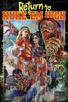 Return to Nuke Em High!! Woo!  Troma!!!! #tromafilms #troma