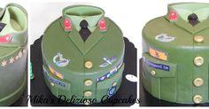 Army cake!!!!!!