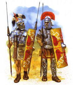 Legionaires during Agricola's campaigns in Britain - Imagen