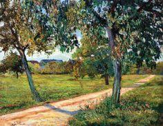 The Athenaeum - GUILLAUMIN, Armand French Impressionist (1841-1927)_Ile de France Landscape- 1873