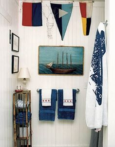 great nautical bathroom