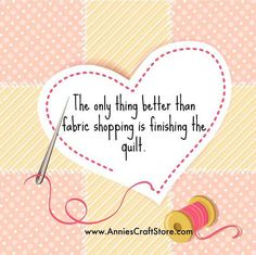 ~ The only thing better than fabric shopping is finishing the quilt Fabric Crafts, Sewing Crafts, Sewing Projects, Art Projects, Modern Quilt Patterns, Modern Quilting, Craft Quotes, Fun Quotes, Sewing Humor