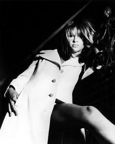 Julie Christie, 1967, photo by John D. Green.