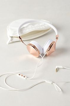 Leather-Wrapped Headphones #anthrofave