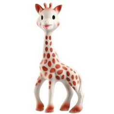 Sophie the Giraffe (teether). They recently had these at SAMs. I should get one for Isabella!