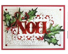 Anna Griffin® Christmas Engravings Card and Envelopes - 9246888 Stampin Up Christmas, Christmas Cards To Make, Xmas Cards, Handmade Christmas, Christmas Crafts, Christmas 2019, Christmas Clipart, Christmas Images, Christmas Greetings