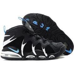 Nike Air Max CB34 Charles Barkley Shoes Black White Blue Sport Air Max 2009 2512d2b15