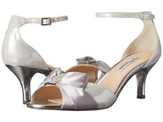Touch Ups Silver Wedge Shoes 66 Wedding Shoes