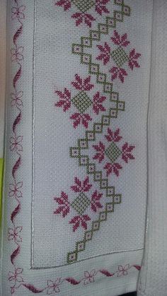 Discover thousands of images about Pretty X-stitch border Cross Stitch Bookmarks, Just Cross Stitch, Cross Stitch Borders, Cross Stitch Kits, Cross Stitch Designs, Cross Stitching, Cross Stitch Patterns, Hardanger Embroidery, Diy Embroidery