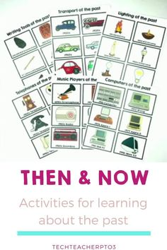 If you're looking for an engaging way for students to make comparisons of life in the past with today in their social studies, then this pack will keep your students engaged with these awesome hands-on activities. This huge resource is no prep and easy to use making it perfect for distance learning. #techteacherpto3 #socialstudies #longagoandtoday #grade1