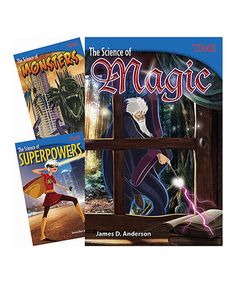 Love this Grade 6 Real Science of Fantasy Paperback Set on #zulily! #zulilyfinds