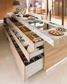 Kitchen storage at its best!