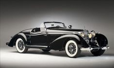 Vintage Cars Classic 1939 Spezial Roadster - The 12 Best Mercedes-Benzes of all time. Maserati, Bugatti, Ferrari, Mercedes Classic Cars, Bmw Classic Cars, Mercedes Benz, Rolls Royce, Scooters, Jaguar