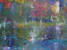 "Saatchi Online Artist: Marek Koscinski; Oil, Painting ""Suspended Bridge"""