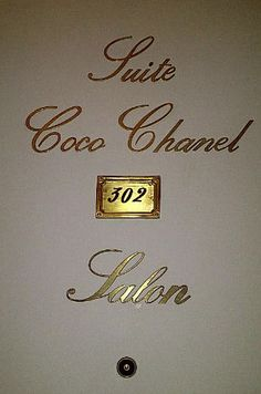 Suite Coco Chanel at the Ritz Paris - next door to the suite i was fortunate enough to occupy for several days on my first trip to paris.