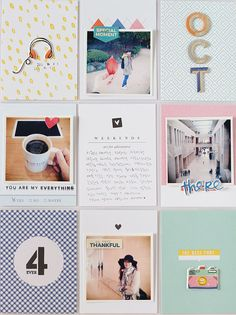 PHOTO + PAPER + STAMP = CRAFTTIME!!!: PROJECTLIFE - AUTUMN, COFFEE AND FRIENDS