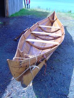 Reconstruction of 11th century Viking ship found at Roskilde, Denmark, which was built in Ireland around 1060 AD.
