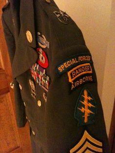 Class A uniform Special Forces